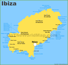 Valencia Spain Map by Ibiza Maps Balearic Islands Spain Map Of Ibiza