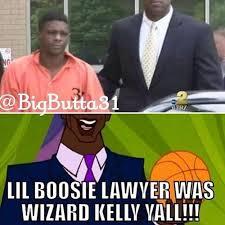 Lil Boosie Memes - lil boosie lawyer was wizard kelly yall