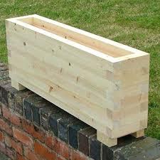 wooden garden tubs large corner l shaped wooden garden planter box