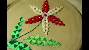 hand embroidery designs elegant stitch stitch and flower 155