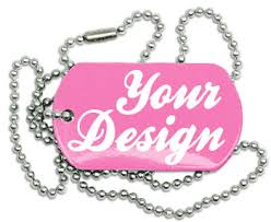 personalized dog tag necklaces custom dog tags design buy no minimums