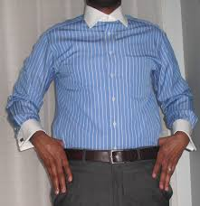 white collar french cuff dress shirt vintage dope dealer