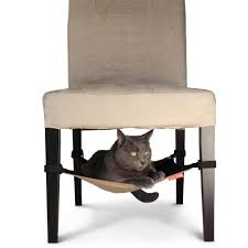 the hide away cat hammock hammacher schlemmer