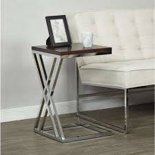 Espresso Accent Table Ave Six Accent Tables Living Room Furniture The Home Depot