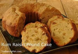 rum raisin pound cake recipe thebakingpan com