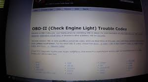 2003 jeep liberty check engine light 2003 jeep liberty obd codes and troubleshooting without a code