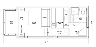small space floor plans this tiny house is designed for small space living contemporist