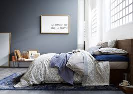 chambre gris bleu peinture gris bleu pour chambre