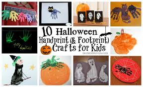 halloween crafts for preschool 10 halloween handprint crafts for kids roundup