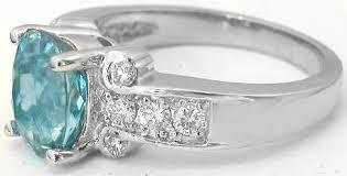 white zircon rings images Blue zircon rings in 14k white gold gr 1024 jpg