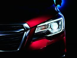subaru forester headlights subaru shows off the facelifted 2017 forester