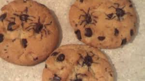 spider chip cookies for halloween youtube