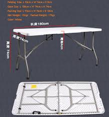 how to open folding table 1 8m length folding table for 1 4m table top interpreter booth
