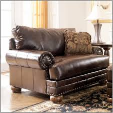 Leather Reading Chair Ashley Furniture Leather Chair And Ottoman Chairs Home