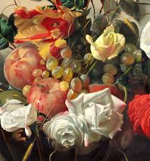 flowers and fruit bouquet of flowers and fruit alexei antonov