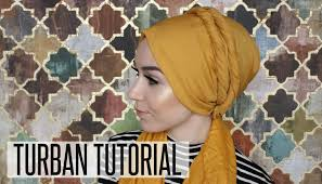 tutorial hijab nabiilabee turban tutorial double twists nabiilabee youtube
