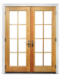 Wood Patio Door Wooden Doors With Glass Peytonmeyer Net