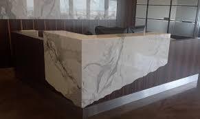 Granite Reception Desk Commercial Projects Bordt Sons Tile And Granite