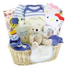 Baby Gift Baskets Delivered Send New Baby Gift Basket To South Korea