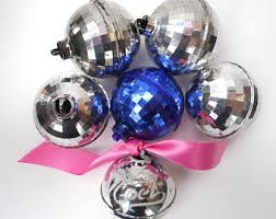 disco ornament etsy