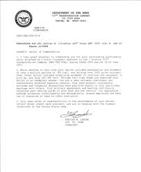 air force resume examples recognitions army letter of commendation
