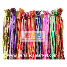 ribbon fabric peruvian fabric inca ribbon