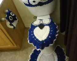 Crochet Owl Rug Owl Bathroom Etsy
