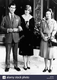 Prince Charles Princess Diana Prince Charles Princess Diana And Elizabeth Ii Stock Photo