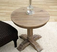 round wood accent table rustic round wood end table coma frique studio 3d08ddd1776b