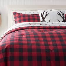 Plaid Bed Set Eddie Bauer Mountain Plaid Scarlet Comforter Set Free Shipping