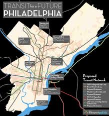 Patco Map Transit For A Future Philadelphia The Transport Politic