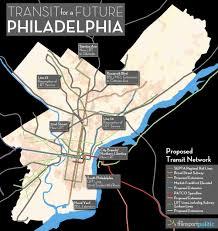 Septa Train Map Transit For A Future Philadelphia The Transport Politic