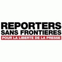 Nouvelles Fronti Reporters Sans Frontières Logo Vector Eps Free