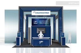booth rental drem001 20x30 trade show booth rental exhibitrents display