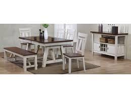 bernards winslow two tone server with wine rack royal furniture