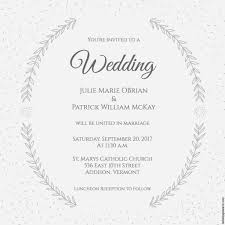wedding invitation designs stylized laurels wedding invitation free printable wedding