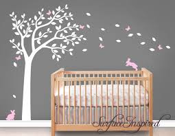 Tree Decal For Nursery Wall Wall Decal Nursery Wall Decals Tree Decal With Adorable