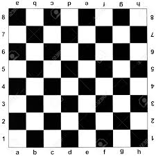 Chess Board Design Black And White Checks Of Chess Board Stock Photo Picture And