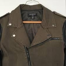 green motorcycle jacket bycorpus motorcycle jacket 58 off retail