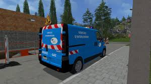 renault usa 2015 renault trafic urgence gaz v1 mod farming simulator 2017 2015