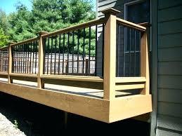 decorative deck railings decorative deck spindles wood deck