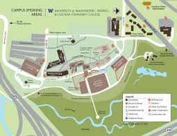 Map Seattle University by Uw Smoking Areas Seattle Tacoma Bothell Campuses