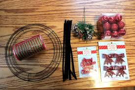 christmas mesh wreaths mini christmas deco mesh wreath tutorial big s