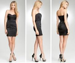 bebe little black dress zilnasa waker
