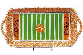 ceramic serving platters clemson tigers 16 ceramic stadium platter clemson