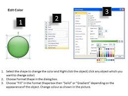 circular arrow process 5 issues visio office powerpoint templates