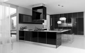 White Kitchen Cabinets Black Countertops by Kitchen Designs Modern White Kitchen With Black Countertop Ideas