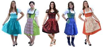 bavarian costumes dressing up for the oktoberfest german