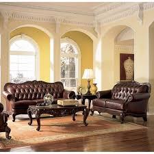 Leather Living Room Sets For Sale Leather Living Room Set Coaster Furniture Cart
