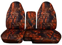 Camo Bench Seat Covers For Trucks 1991 2012 Ford Ranger 60 40 Camo Truck Seat Covers W Console